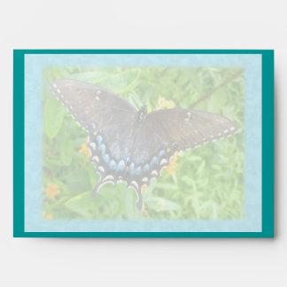 Dark Phase Tiger Swallowtail New Neighbor Envelope