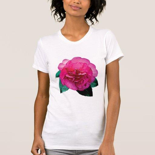 Dark Pink Camellia Dazzler Shirt