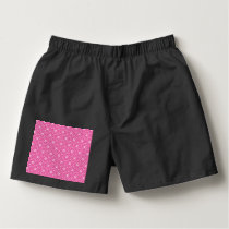 Dark Pink Celtic Love Knots Boxers