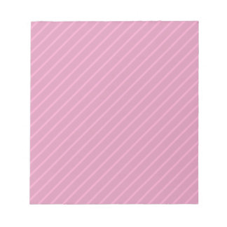 Dark Pink Diagonal Stripes. Pattern. Notepad