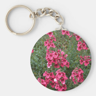 Dark Pink Diascia Key Chain