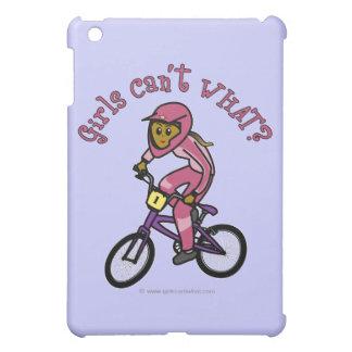 Dark Pink Girls BMX iPad Mini Case