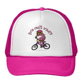 Dark Pink Girls BMX Trucker Hat