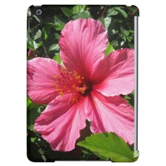 Dark Pink Hibiscus iPad Air Cover