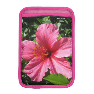 Dark Pink Hibiscus iPad Mini Sleeve