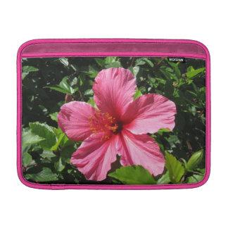 Dark Pink Hibiscus MacBook Air Sleeve