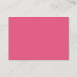 Dark Pink Mighty Business Card