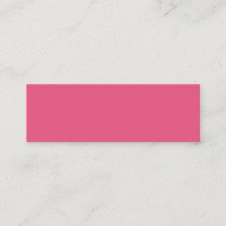 Dark Pink Mini Business Card