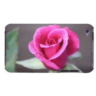 dark pink mini rose iPod touch case