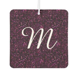 Dark Pink Posh Glitter Air Freshener