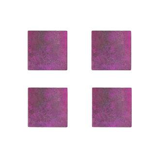 Dark Pink Stone Magnet