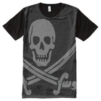 Dark Pirate All-Over Print T-shirt