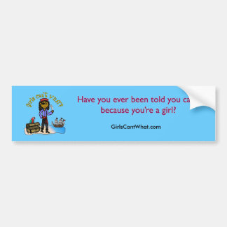 Dark Pirate Girl Bumper Sticker