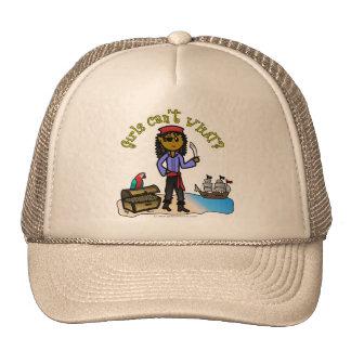 Dark Pirate Girl Trucker Hat