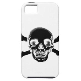 Dark Pirate Skull iPhone 5 Carcasa