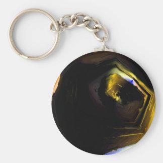 Dark Places of the Mind.JPG Basic Round Button Keychain