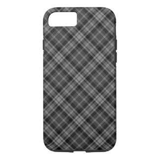 Dark Plaid iPhone 8/7 Case