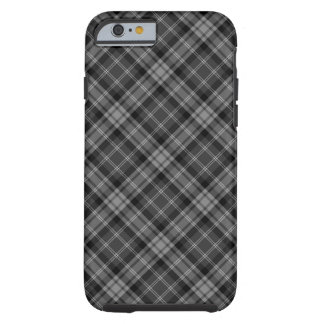 Dark Plaid Tough iPhone 6 Case