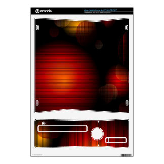 Dark Planets Xbox 360 S Console (2010)  Skin Xbox 360 S Skin