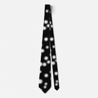 Dark Polka Dots Neck Tie