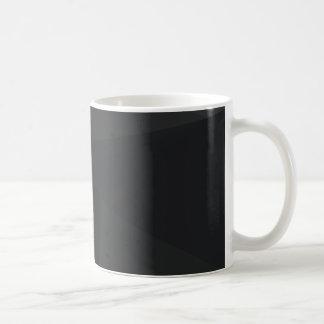 Dark Polygonal Pattern Classic White Coffee Mug