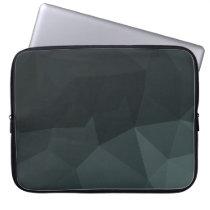 Dark Polygonal Pattern Laptop Sleeve
