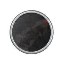 Dark Polygonal Pattern Speaker