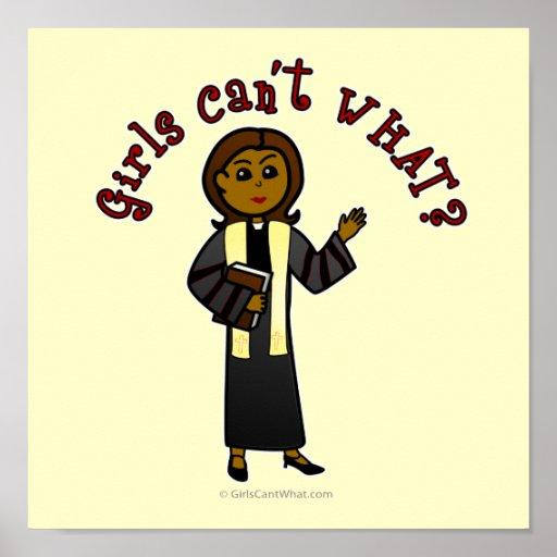 Dark Preacher Girl Poster