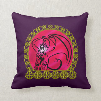 Dark Prince Throw Pillow