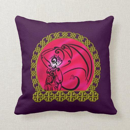 Dark Prince Throw Pillow