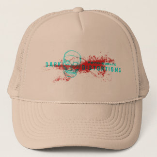 Dark psychedelic distortions hat
