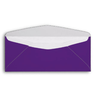 Dark Purple #10 Envelope