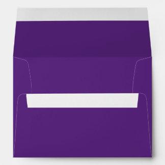 Dark Purple A7 Envelope