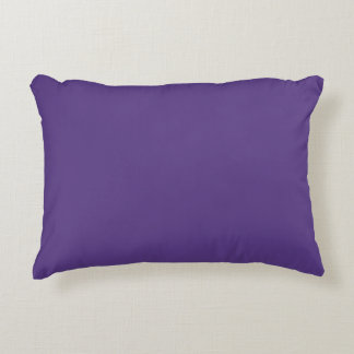 """Dark Purple"" Accent Pillow"