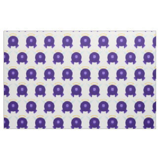 Dark Purple Angel Pom Pom Pal Fabric