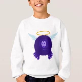 Dark Purple Angel Pom Pom Pal Sweatshirt