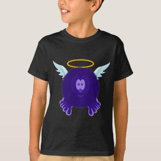 Dark Purple Angel Pom Pom Pal T-Shirt