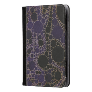 Dark Purple Blue Abstract Kindle Case