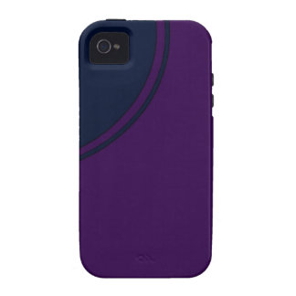Dark purple case for the iPhone 4