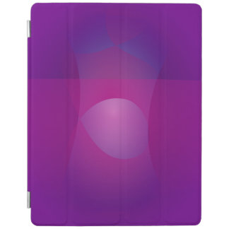 Dark Purple Cool Abstract Art iPad Cover