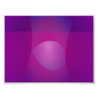 Dark Purple Cool Abstract Art Photographic Print