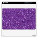 Dark Purple Glitter Mac Air Skin MacBook Skin