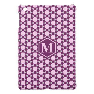 Dark Purple Gray and Pink STH Mini iPad Case