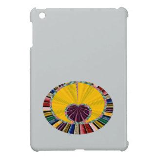 Dark Purple Heart in a Platter iPad Mini Case