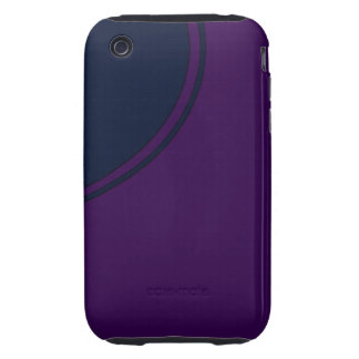 Dark purple iPhone 3 tough cover