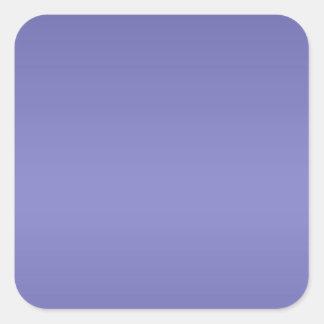 Dark Purple Lable Label - Print in Light Shade Square Sticker