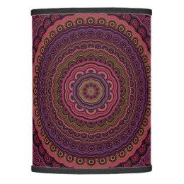Dark Purple Mandala Lamp Shade