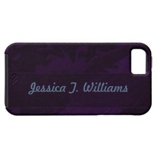 Dark Purple Marbelized iPhone SE/5/5s Case