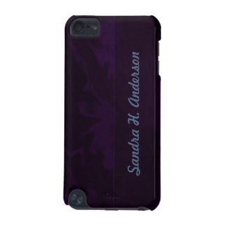 Dark Purple Marbelized iPod Touch 5G Cover