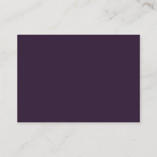 Dark Purple Mighty Business Card